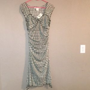 Cream Black Max Studio Size M Maxi Dress With Tags